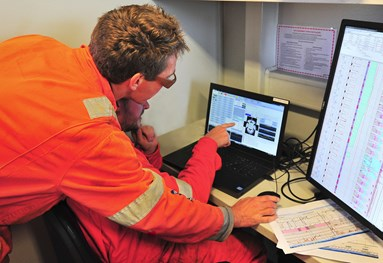 visuray uses xray imaging to see inside customers oil well